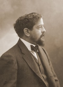 Claude Debussy photographed by Félix Nadar (1909)