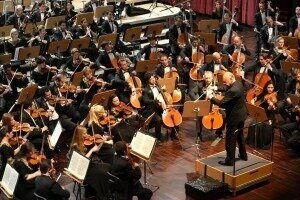 Opening Concert with Maazel conducting