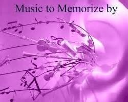 music to memorize by