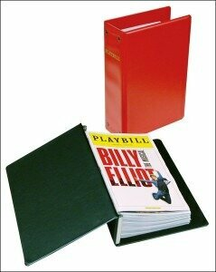 Playbill Storage Binder