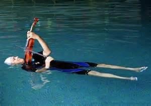 violin drowning