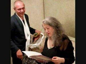 With Martha ArgerichCredit: http://i.ytimg.com/