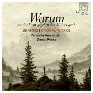Cappella Amsterdam and Daniel Reuss - Brahms Choral Works - Artwork