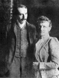 Elgar and Alice, c.1891