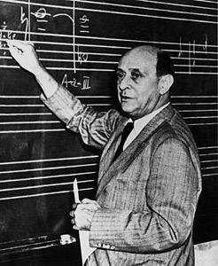 Arnold SchoenbergCredit: http://www.bach-cantatas.com/
