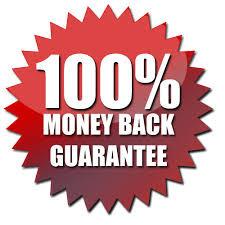satisfaction guaranteed or money back image