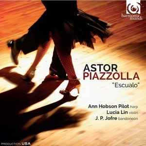 Ann Hobson Pilot, Lucia Lin and JP Jofre - Astor Piazzolla Escualo - Artwork