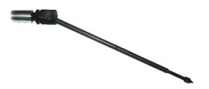 Angled carbon fibre endpin