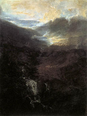 Morning amongst the Coniston Fells, 1798