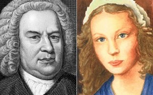 JS Bach and his wife, Anna MagdalenaPhoto: Alamy