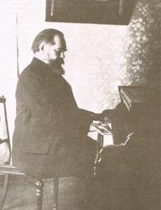Sergei Ivanovich Taneyev at piano