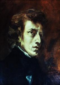 Frédéric Chopin by Eugène Delacroix - 1838