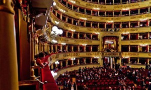 Audiences at La Scala in Milan, Italy (Flickr/Federico Soffici)