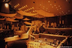 Interior, Berlin Philharmonic