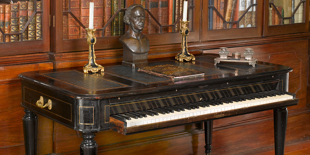 Composer's Pianos: Halévy and Bizet