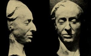 Frederick Chopin death mask