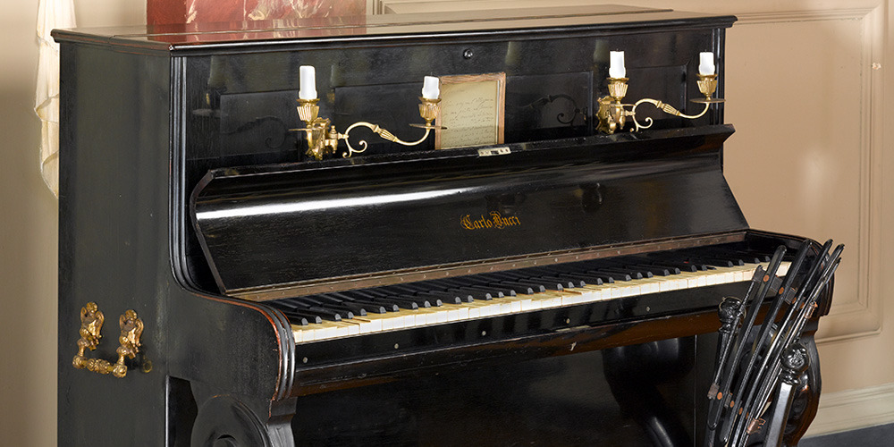 Composer's Pianos: The Liszt Upright