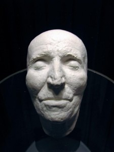 Joseph Haydn death mask