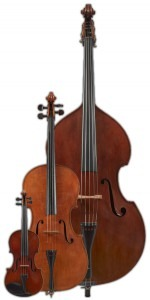 Violin, Cello, Double Bass by Healey (UK)