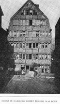 House in Hamburg where Brahms was born
