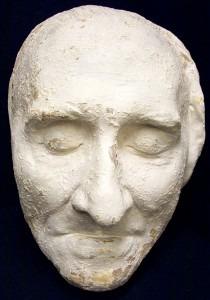Franz Liszt death mask