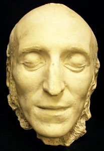 Felix Mendelssohn death mask