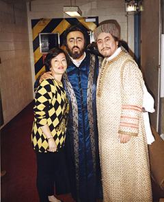 Tian, Pavarotti, Martha, I Lombardi, 1993