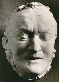 Richard Wagner death mask
