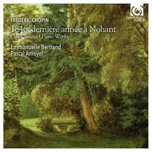 Emmanuelle Bertrand and Pascal Amoyel - Chopin 1846, dernière année à Nohant - Artwork