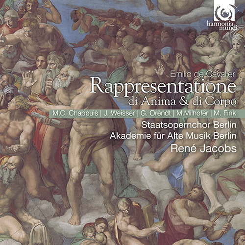 René Jacobs, Marie-Clau... - Cavalieri Rappresentatione di anim... - Artwork