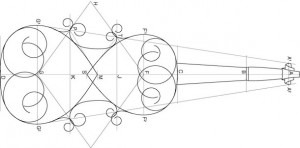 Underlying geometry of a violin design