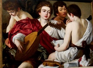 The Musicians, Caravaggio