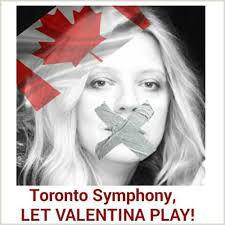 toronto symphony let valentina play
