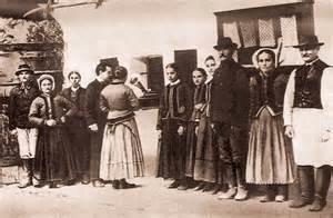 Bartók with peasants