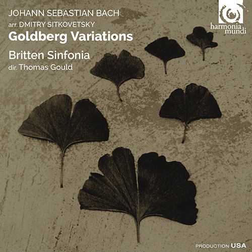 Britten Sinfonia and Thomas Gould - Bach, Sitkovetsky Goldberg Variations - Artwork