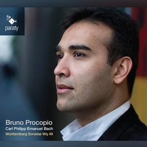 Bruno Procopio - CPE Bach Württemberg Sonatas Wq 49 - Artwork