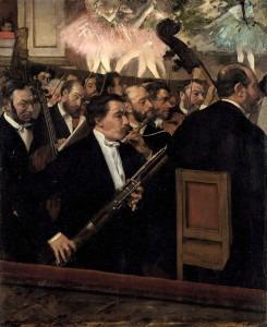 Edgar Degas - L'Orchestre de L'Opera
