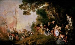 Embarkation to Cythera – Jean-Antoine Watteau - Berlin Version
