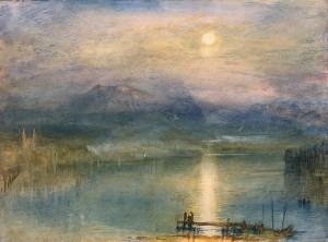 Turner: Moonlight on Lake Lucerne (1841)