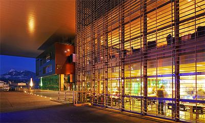 Good vibrations … Culture and Congress Centre, Lucerne. Photograph: Alamy