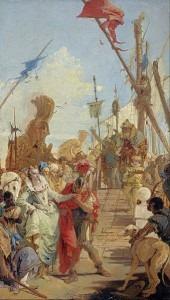 Tiepolo: The Meeting of Antony and Cleopatra