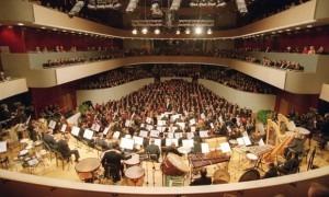 Opening of the Sibelius Hall. Photograph: Lehtikuva Oy/Rex