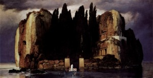 Böcklin: Isle of the Dead, fifth version (1886)