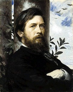 Böcklin: Self-portrait (1873)