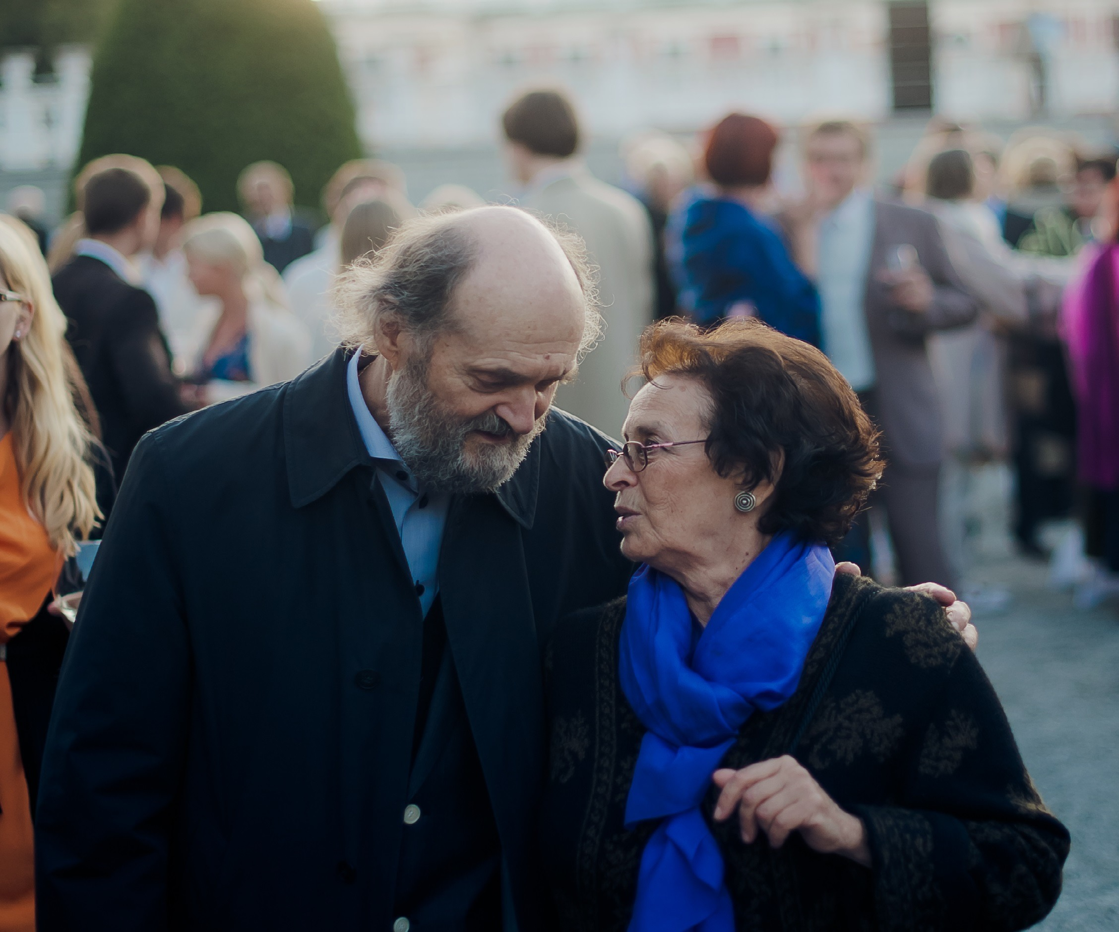"""Art has to deal with eternal Questions""<br/>Arvo and Nora Pärt"
