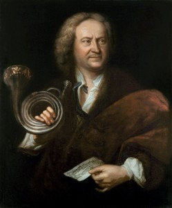 Gottfried Reiche, chief trumpeter for J.S. Bach in Leipzig