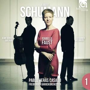 Isabelle Faust, Freibur... - Schumann Violin Concerto - Artwork