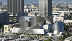 Walt Disney Concert Hall, home of the Los Angeles Philharmonic. (Photo: Geographer/Wikimedia Commons)