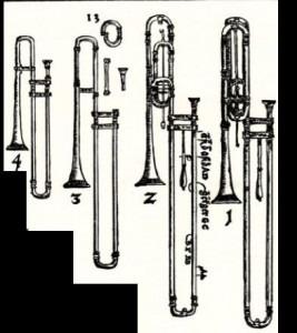Praetorius's trombones (detail of plate 8)