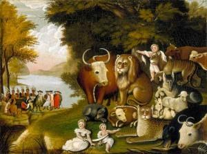 Hicks: The Peaceable Kingdom (Worcester Art Museum)